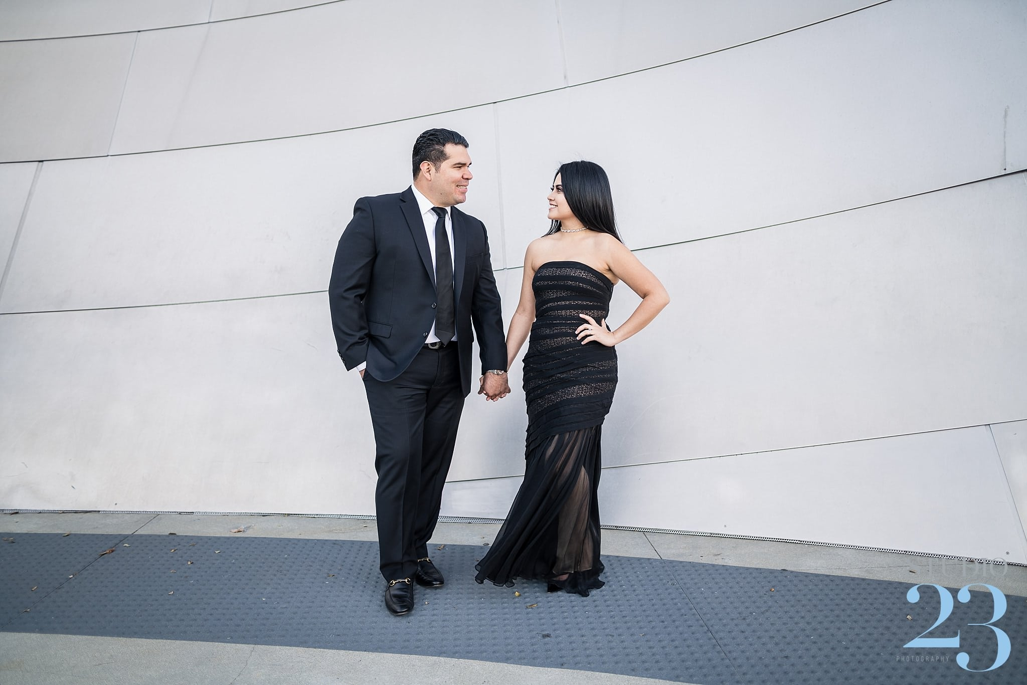 Downtown Los Angeles Engagement-Session