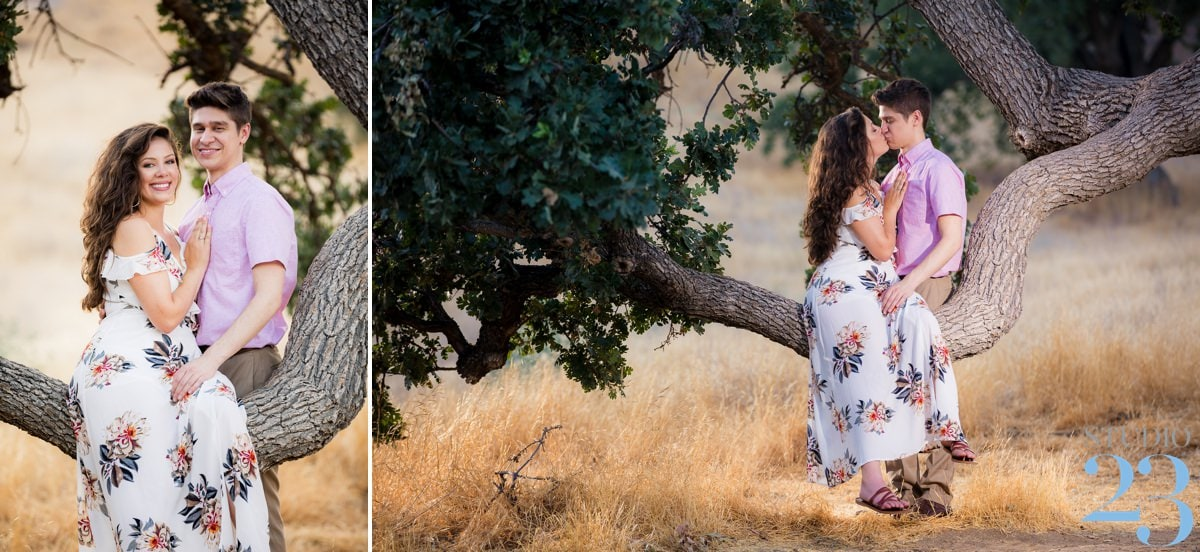 Summit Park Engagement Session | Cole & Mary