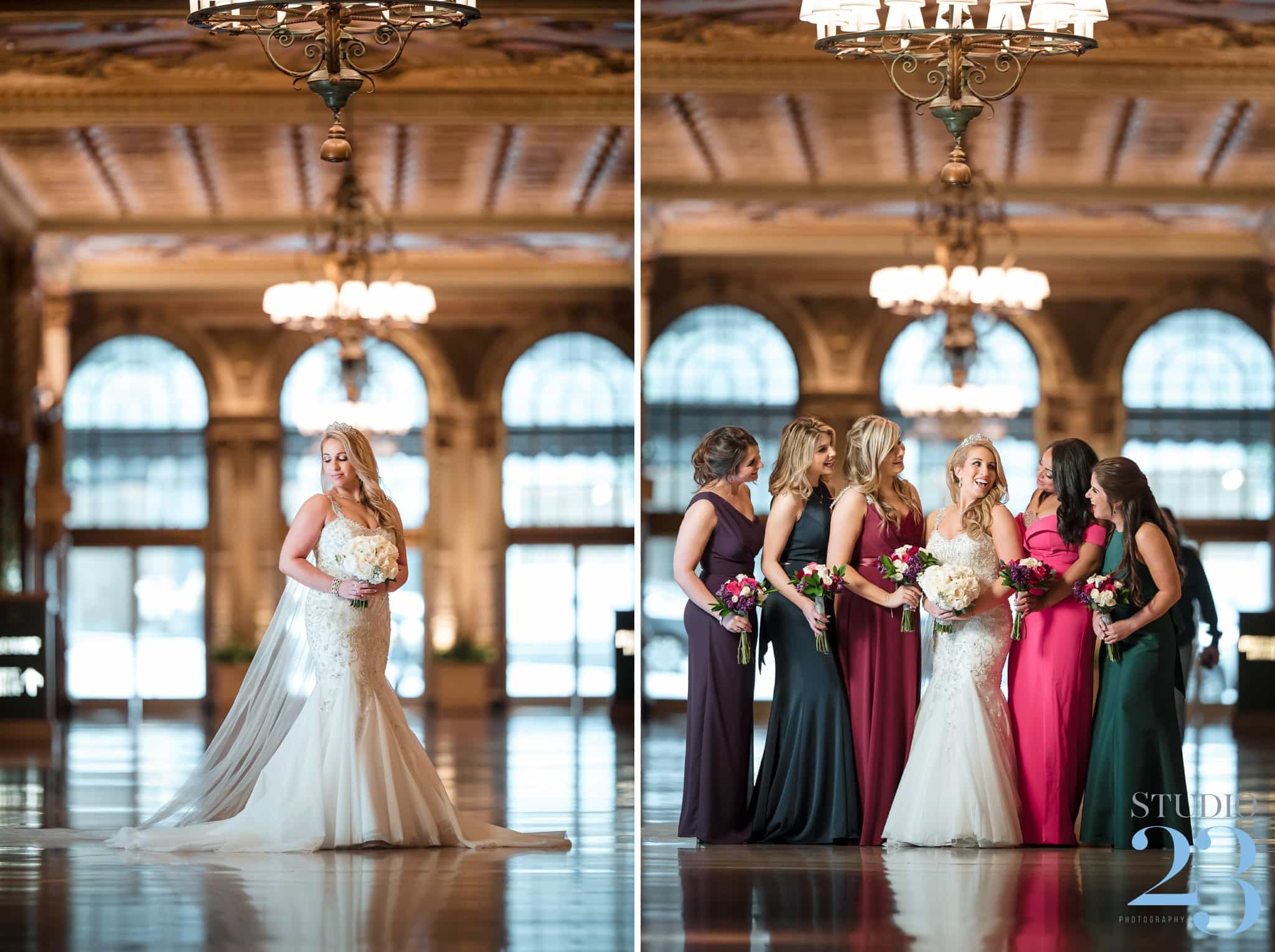 Glamorous Crystal Ballroom Wedding at Millennium Biltmore Los Angeles | Los Angeles Wedding Photographers
