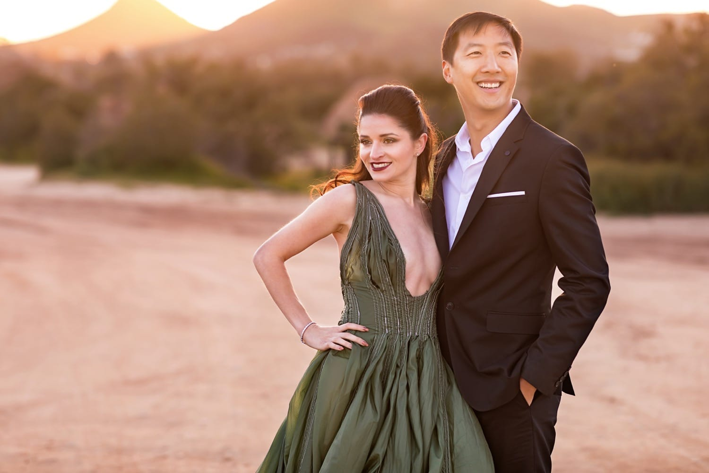Vasquez Rocks Engagement Session | Santa Clarita Wedding Photographers