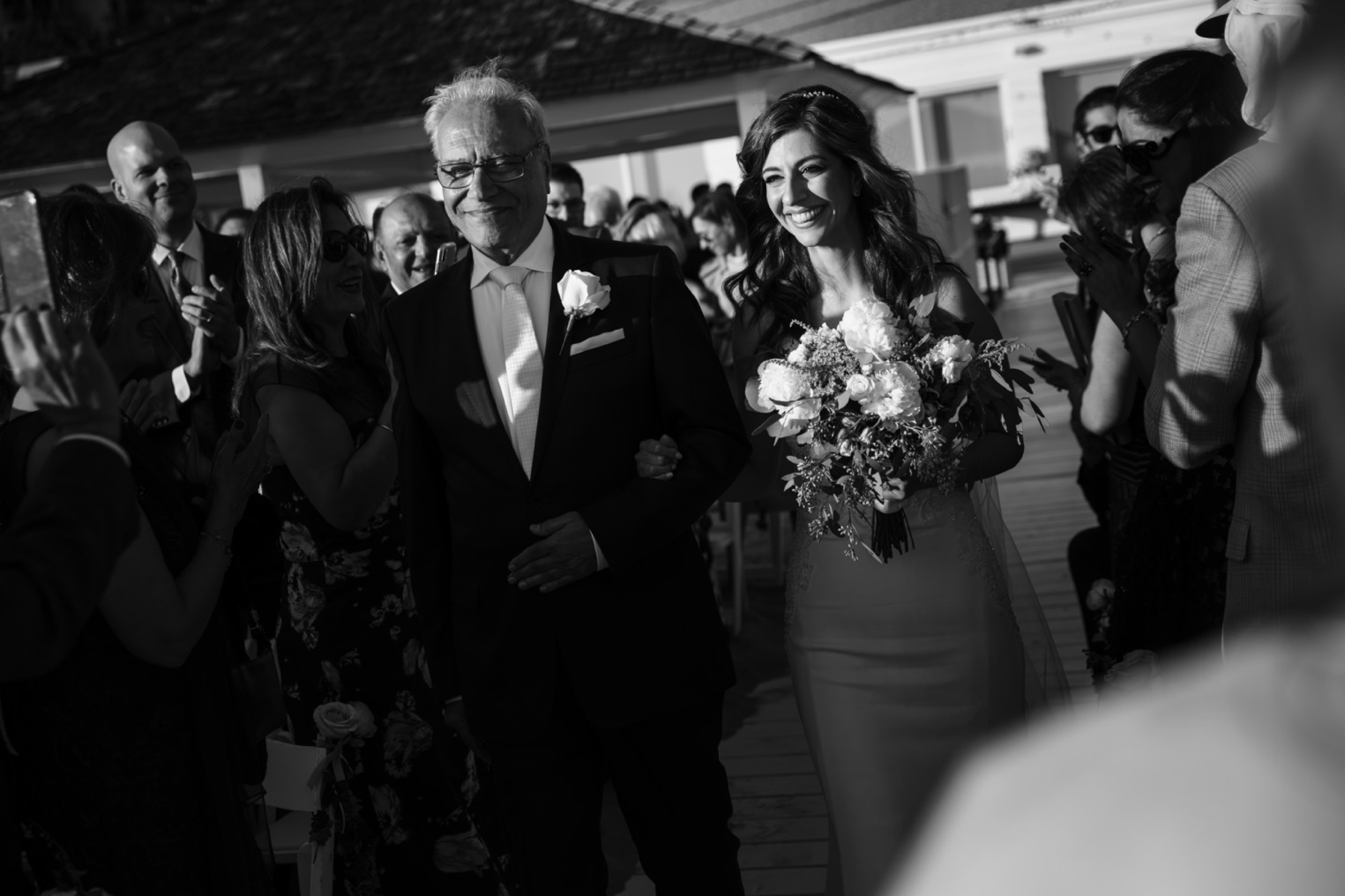 Santa Monica Beach Club Wedding | Arta & Thomas